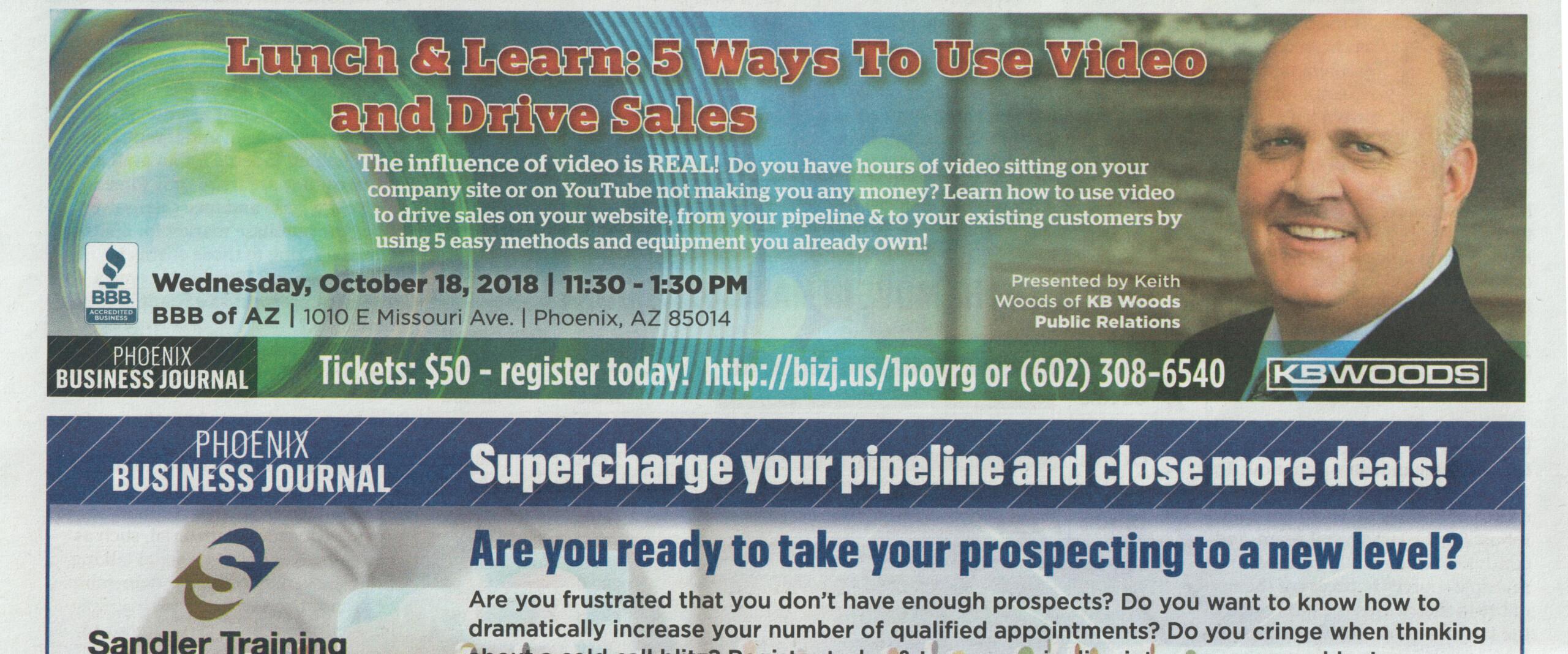 Keith Woods Sept Phoenix Business Journal
