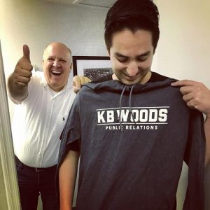 thumbs up with KB Woods PR