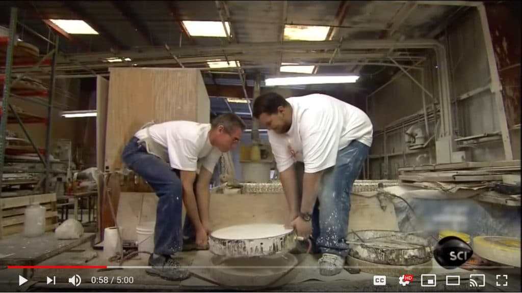 HF Coors ceramics factory workers