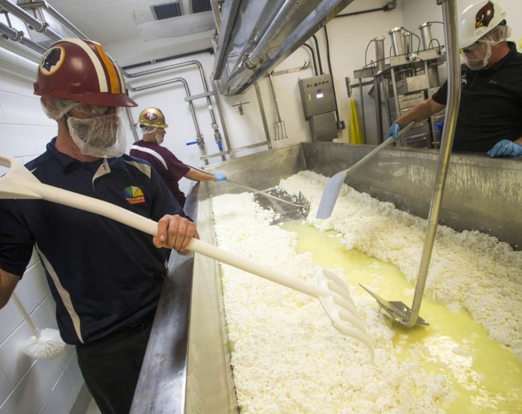 Rovey Dairy cheese making