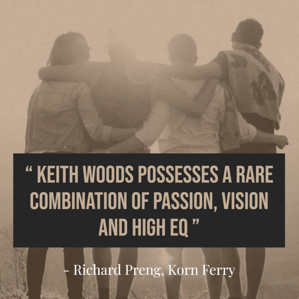 Testimonial for Keith Woods by Richard Preng