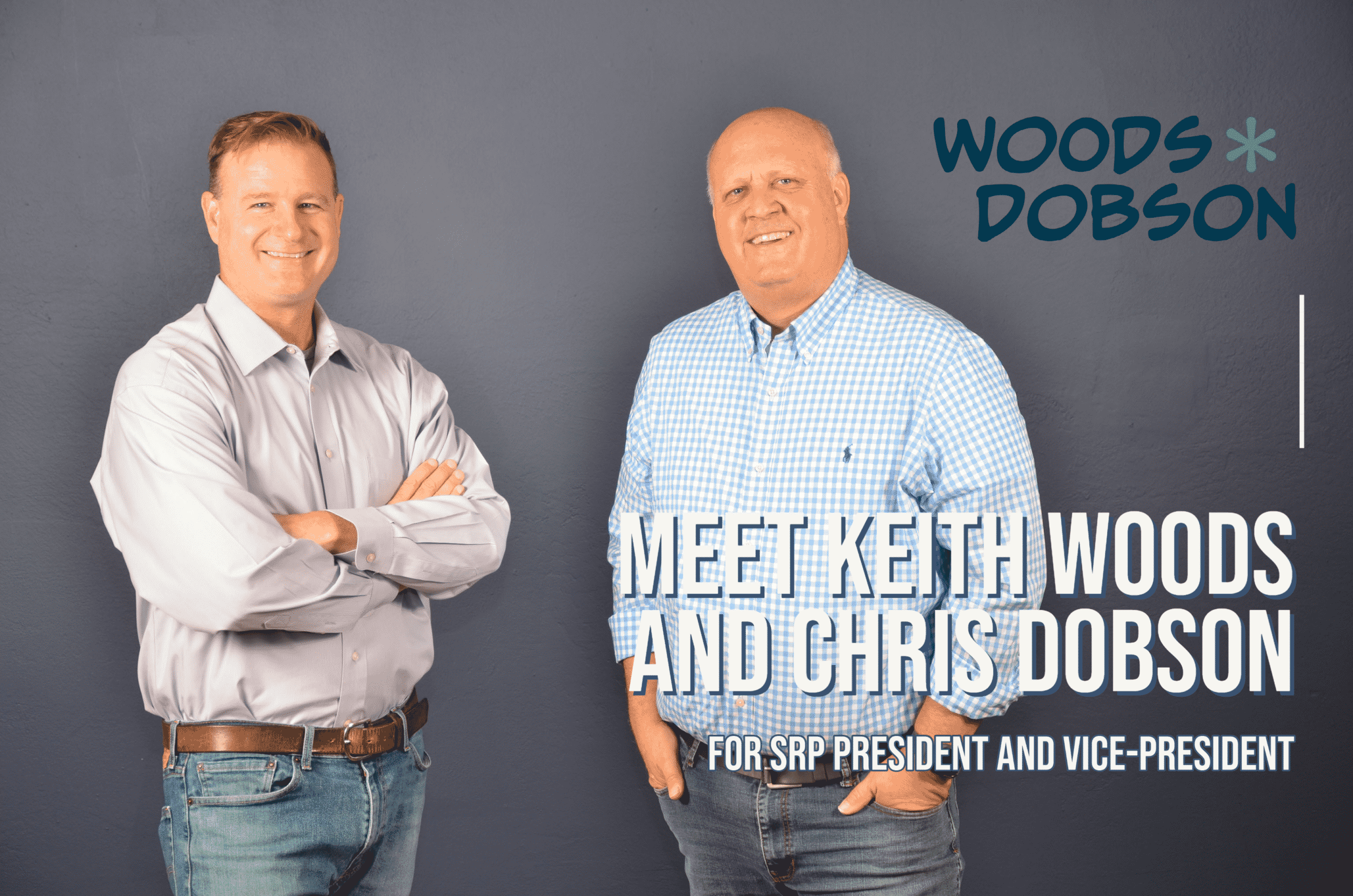 Keith Woods and Chris Dobson